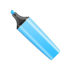 Blue, stabilo Black icon