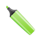 green, stabilo Black icon