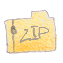 Filetype, Zip Black icon