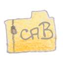 Cab, Filetype Black icon