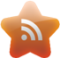 subscribe, feed, Rss Chocolate icon