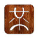 square, mister, Logo, wong SaddleBrown icon