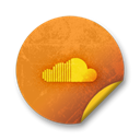 Soundcloud Black icon