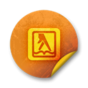 Yellowpages Black icon