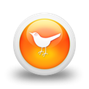 Social, twitter, bird, social network, Sn, Animal Black icon