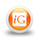 igooglr, square, Logo Black icon