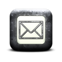 square, Message, Letter, envelop, Email, mail Black icon