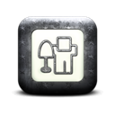 Digg, square Black icon