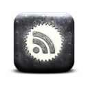 subscribe, Badge, Rss, feed Black icon