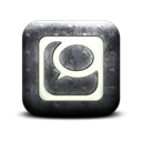 square, Logo, Technorati Black icon