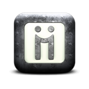 Logo, Diigo, square Black icon