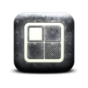 Logo, square, Delicious Black icon
