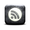 Circle, round, subscribe, feed, Rss Black icon