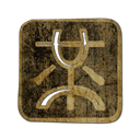 wong, mister, Logo, square DarkOliveGreen icon
