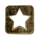 Diglog, square Black icon