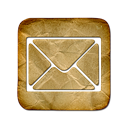 Letter, Message, square, mail, Email, envelop Black icon