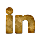 Linkedin, Logo Black icon