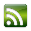 Rss, subscribe, feed, cube Black icon