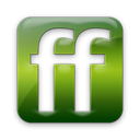 Logo, square, Friendfeed Black icon