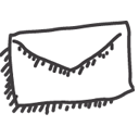Mailclosed Black icon