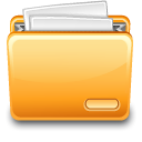 paper, with, File, Folder, document Khaki icon