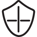 Shields, defense, security, Protection, weapons Black icon