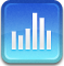 Stocks RoyalBlue icon