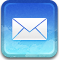 mail, Message, envelop, Email, Letter RoyalBlue icon