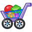 Full, buy, Cart, shopping cart, commerce, shopping DarkSlateGray icon
