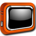 Tv, television Black icon