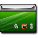 Desktop DarkGreen icon