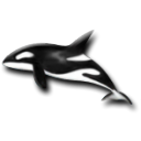 dolphin Black icon