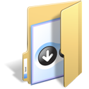 Folder, Bittorrent, Bt Khaki icon