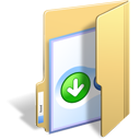 Bt, Folder, Bittorrent Khaki icon