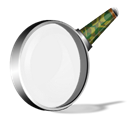 Sh, Magnifier, magnifying class, Enlarge, Zoom in Black icon
