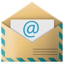 Letter, mail, Email, envelop, Message DarkKhaki icon