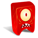 Creature, red Icon