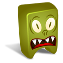 swamp, Creature Olive icon