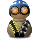 vision, Beige, helmet, Blue, night Black icon