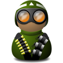 uniform, vision, Delta, night, green Black icon