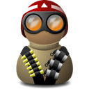 Beige, red, vision, helmet, night Black icon