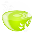 Ico, flock GreenYellow icon