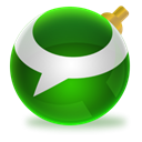 Technorati, christmas ForestGreen icon