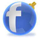 social network, Social, christmas, Facebook, Sn SteelBlue icon