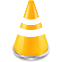 Traffic, Vlc Black icon