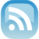 feed, subscribe, Rss LightBlue icon