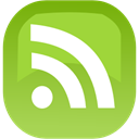 Rss, subscribe, feed YellowGreen icon