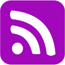 Rss, feed, subscribe DarkViolet icon