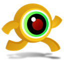 crazyeye, Run Black icon