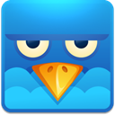 social network, twitter, Social, square, Sn, Angry DodgerBlue icon